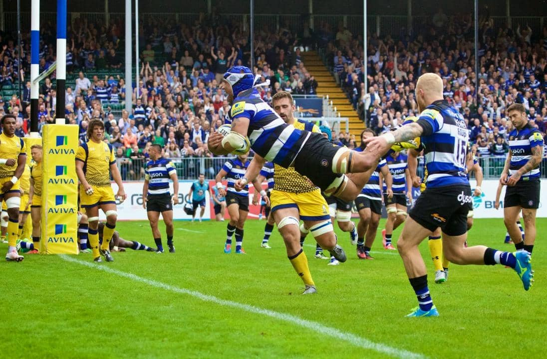 Bath Rugby: The frictionless stadium